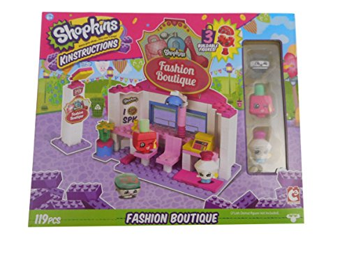 Shopkins Kinstructions Fashion Boutique