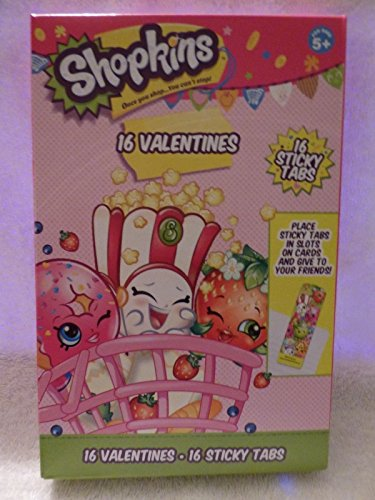 Shopkins Valentines Cards