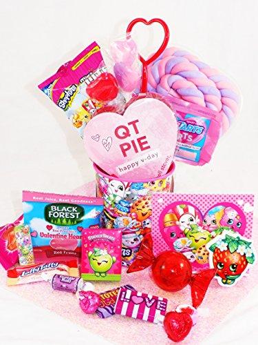 Shopkins Valentines Gift Basket
