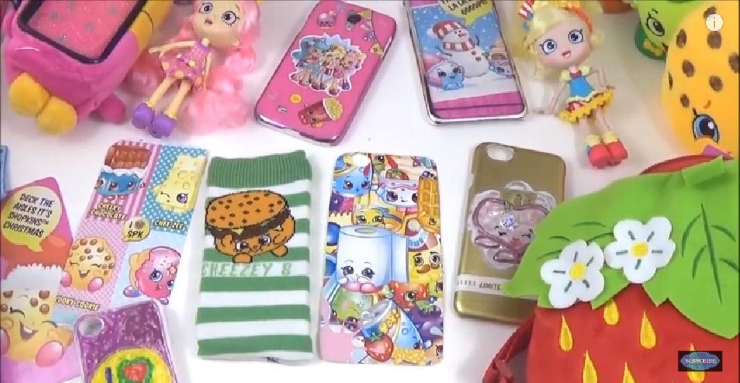 DIY Shopkins Phone Case