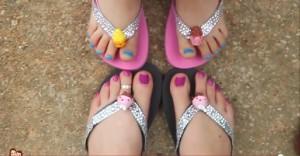 Shopkins Flip Flops 2